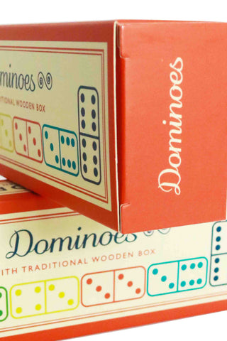 Wooden Box of Dominoes - The Little Things