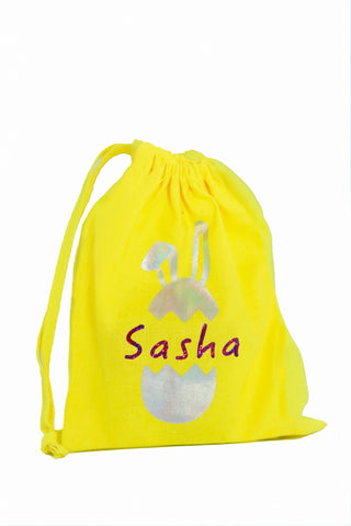 Personalised Easter Fabric Bag