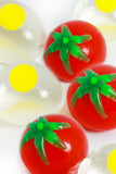 Egg and Tomato Splat Balls - The Little Things