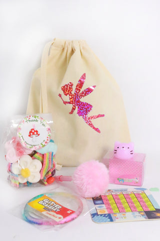 Pre Filled Fabric Party Bag - Fairy Magic