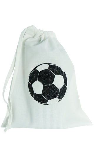 Football Fabric Party Bag (pack of 5) - The Little Things