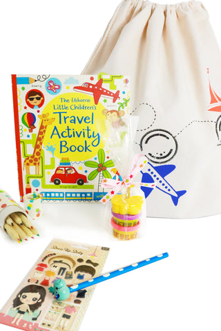 Big Busy Bag – Kids Activity Bag (Girls 3+) -medium adventure - The Little Things