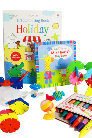 Big Busy Filler Kit – Kids Activity Kit (Girl 1+) -Long adventure - The Little Things