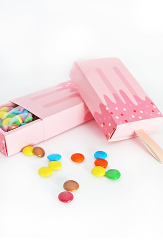 Ice-Cream Treat Box (Pink)