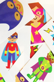 Pre Filled Party Bag- Little Superhero - The Little Things