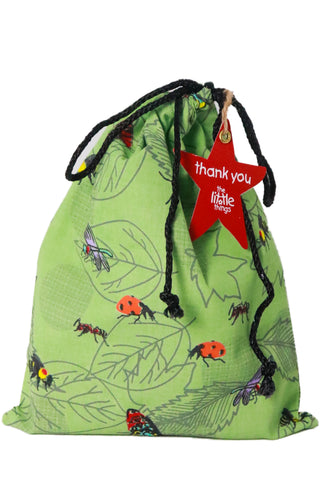 Insects Print Fabric Party Bag