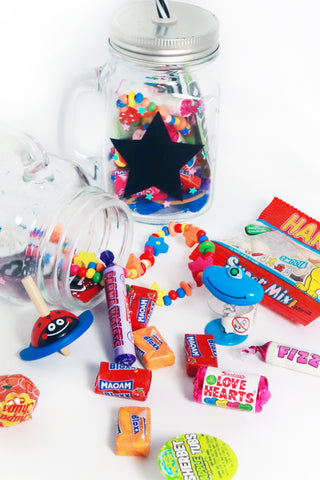 Pre Filled Party Bag - Jar Full Of Goodies