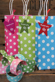 Green Luxury Spots Party Bag  - 2