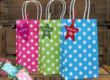 Blue Luxury Spots Party Bag  - 2