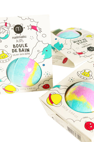 Nailmatic Kids Bath Bomb- Galaxy