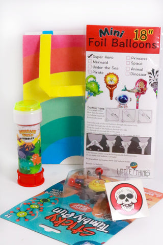 Pre Filled Party Bag - Birthday Goodie bag (Boys) - The Little Things