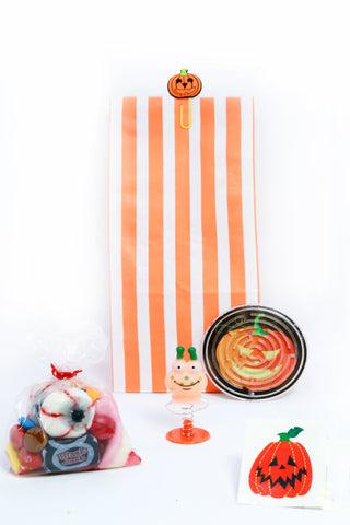 Pre Filled-Pumpkin Halloween Bag (Orange)
