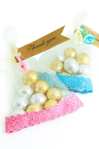 Organza bag favour - The Little Things
