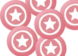 White Spots On Pink Treat Party Bags (Quantity 12) - The Little Things