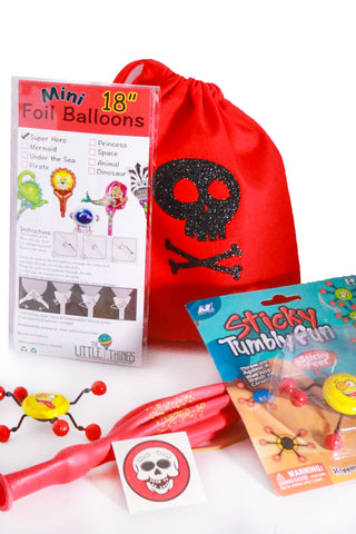 Pre Filled Party Bag - Pirates Treasure - The Little Things