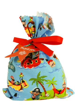 Pirate Fabric Party Bag