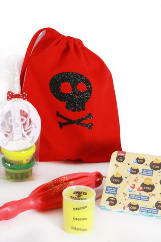 Pre Filled Party Bag - Pirate Fun - The Little Things