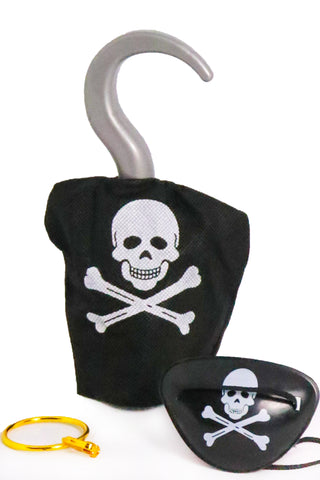 Pirate Fancy Dress Accessories Set