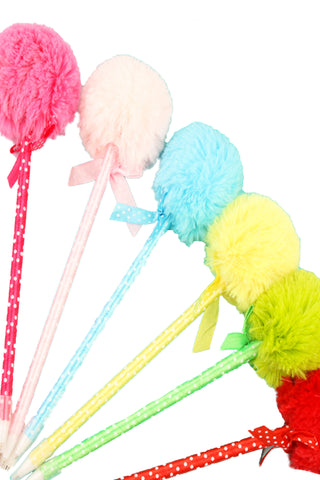 Fluffy Pom-Pom Pen - The Little Things