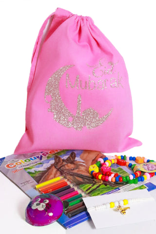 Eid Gift -(Kids Pre-filled Eid Gift Bag )(Girls)-2
