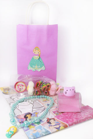 Pre Filled Paper Party Bag - Princess
