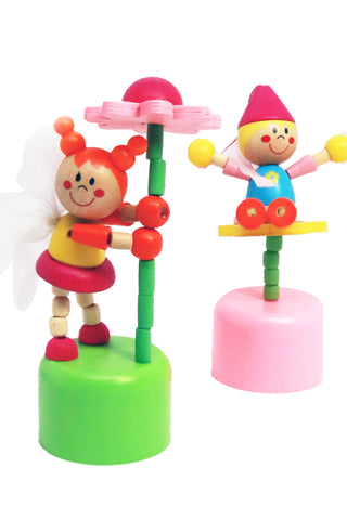 Wooden Fairy Push Up - The Little Things