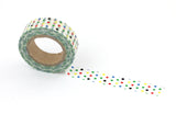 Rainbow Spots Washi Tape - The Little Things