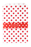 Red Spotty Treat Party Bags (Quantity 12) - The Little Things