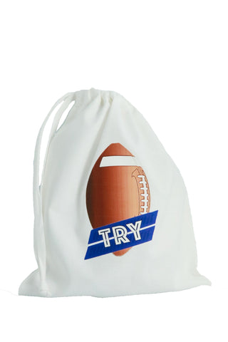 Rugby Fabric Party Bag - The Little Things