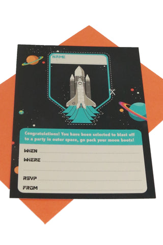 Space Invitations (Quantity 8) - The Little Things