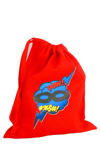 Superhero Fabric Party Bag - The Little Things