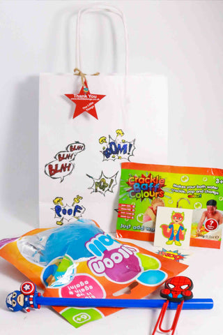 Pre Filled Party Bag-My Big hero