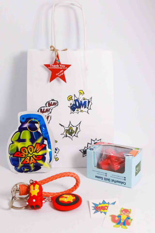 Pre Filled Party Bag-Superhero