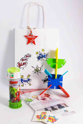Pre Filled Party Bag- Little Superhero