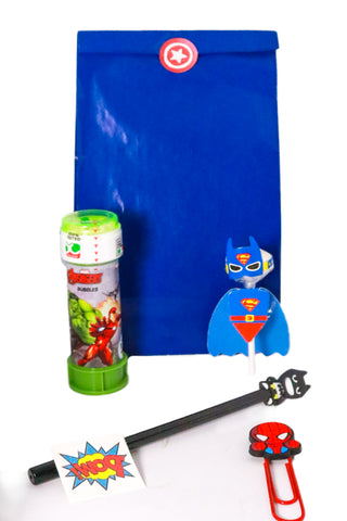 Pre Filled Paper Party Bag - Superhero