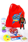 Filled Party Bag - Superhero Pow - The Little Things