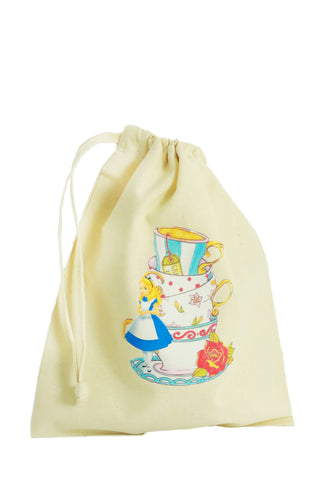 Tea Party Fabric Party Bag - The Little Things
