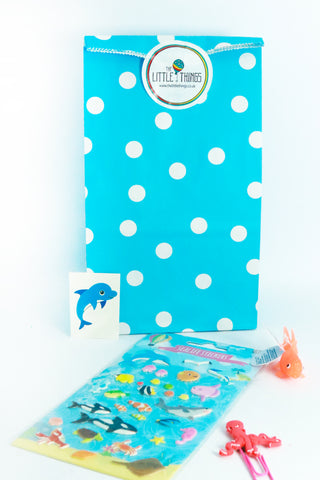 Pre Filled Paper Party Bag - Under The Sea - The Little Things