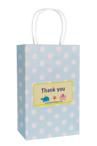 Sea Life Blue Spotty Party Bag