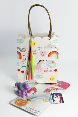 Pre Filled Party Bag - Unicorn - The Little Things
