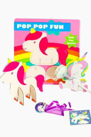 Unicorn Pop Party Bag filler Kit - The Little Things