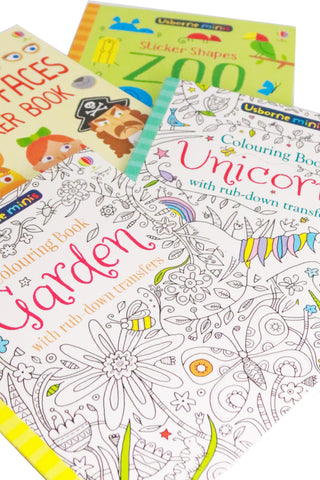 Usborne Minis Activity Books (Girls) - The Little Things