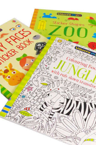 Usborne Minis Activity Books (Boys) - The Little Things