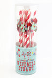 Carnival Time Windmill Straws (Quantity 12) - The Little Things