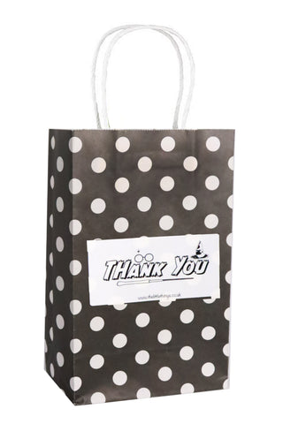 Wizard Black Spotty Party Bag