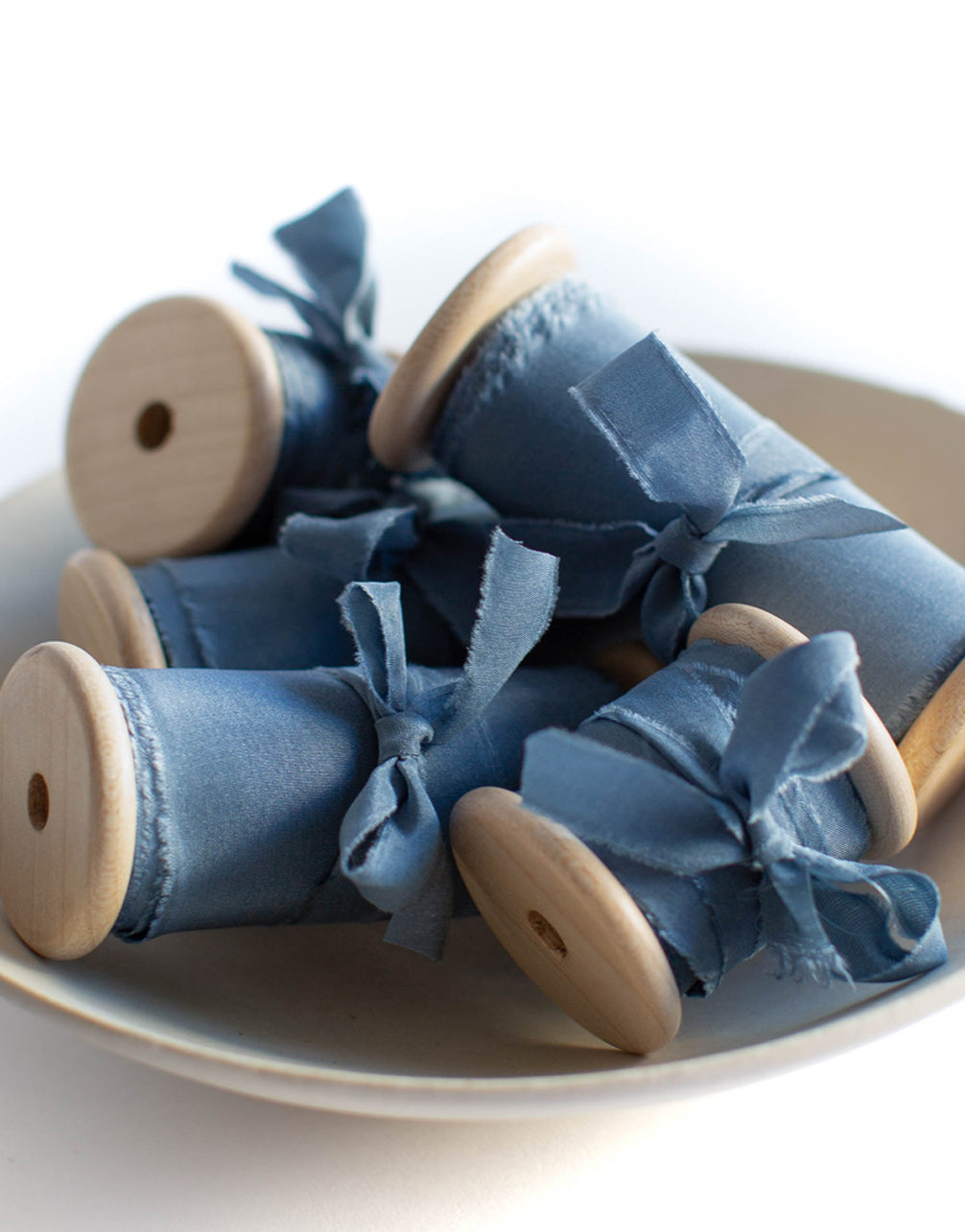 Bleu Pearl Original Silk Ribbon
