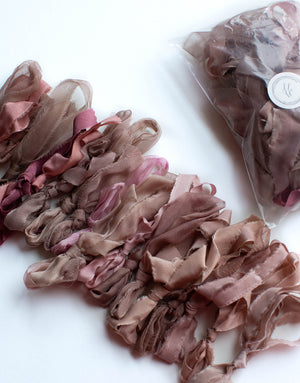 Deep Rose, Pink and Neutrals Thin Mix Bundle - FROUFROU CHIC