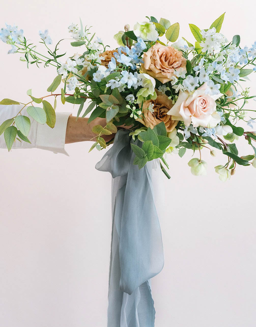 Deep Blue Bouquet Collection
