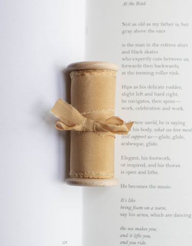 Ochre Gold Original Silk Ribbon