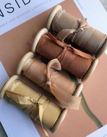 Cappucíno Original Silk Ribbon